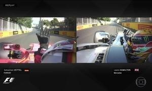 Confusão entre Hamilton e Vettel no GP de Fórmula 1 continua rendendo