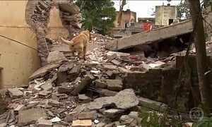 Dois homens morreram soterrados no desabamento de um prédio em Garanhuns, PE