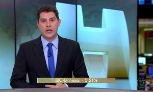 Economia brasileira registra a maior queda desde agosto do ano passado