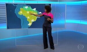 Veja a previsão do tempo para esta sexta-feira (21) em todo país