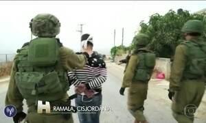 Polícia prende irmão do palestino que matou três israelenses na Cisjordânia