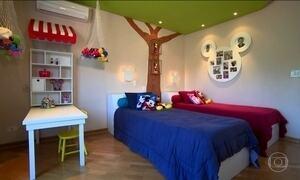 Confira dicas para transformar quarto das crianças em local lúdico