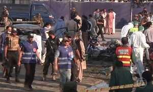Atentado no Paquistão mata 25 pessoas