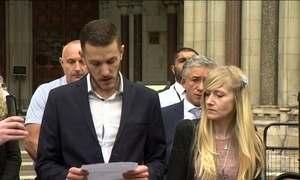 Família do bebê Charlie desiste de brigar na Justiça pelo tratamento do filho