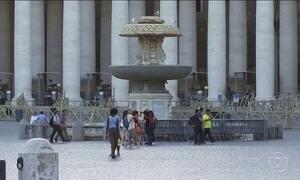 Cerca de 100 fontes de água serão desligadas no Vaticano por conta de onda de calor