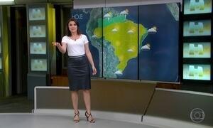 Chuva vai continuar concentrada em parte das regiões Norte e Nordeste