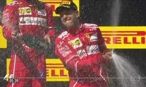 Ferrari consegue dobradinha no GP da Hungria de F-1