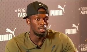 Mundial de Atletismo em Londres será a última competição oficial de Usain Bolt