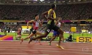 Jamaicano Usain Bolt disputa a primeira prova do torneio de despedida