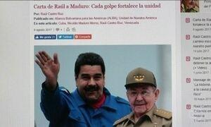 Raul Castro se posiciona em defesa da assembleia constituinte da Venezuela