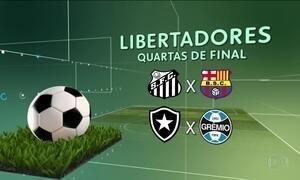 Brasil terá três representantes nas quartas de final da Libertadores