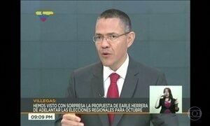Ministro da Venezuela chama de 'ato de loucura' ação militar de Trump no país