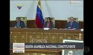 Assembleia Constituinte da Venezuela assume poderes do Congresso