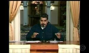 Maduro diz que exercícios militares são para proteger país de ameaças externas