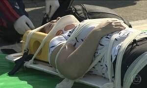 Acidente em rodovia de SP deixa 20 feridos; risco de vida está descartado