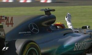 Hamilton vence GP da Itália e assume liderança do campeonato de Fórmula 1