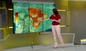 Previsão do tempo é de bastante sol e calor em quase todo Brasil
