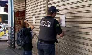 Receita Federal faz megaoperação em SP para combater o comércio ilegal
