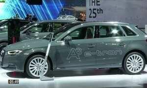 Carros elétricos são a aposta de fabricantes Salão Internacional do Automóvel da Alemanha