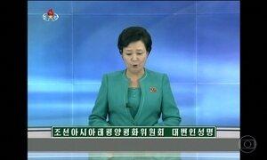 Coreia do Norte volta a ameaçar os Estados Unidos e o Japão