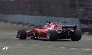 Equilíbrio entre os líderes marca o GP de F1 de Cingapura