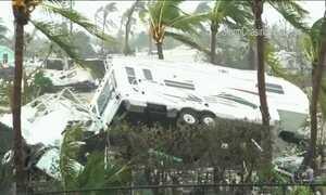 Caribe em alerta para o furacão Maria, de alto poder de destruição