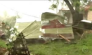 Furacão Maria provoca alagamento e destruição em Porto Rico