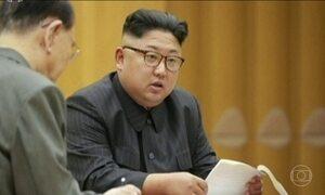 Trump chama Kim Jong-Un de louco e diz que ditador não se importa com próprio povo passar fome