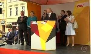 Alemães se preparam para as eleições gerais no domingo