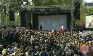 Milhares de pessoas protestam na França contra a reforma trabalhista