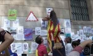 Realização de consulta popular que pode separar Catalunha da Espanha deixa país tenso