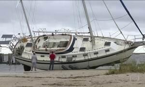 Nate perde força nos EUA e se transforma em tempestade tropical
