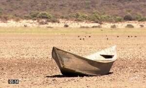 Rio São Francisco agoniza com um dos piores períodos de seca dos últimos cem anos