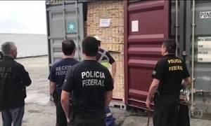 PF prende 56 pessoas em 5 estados por tráfico internacional de cocaína