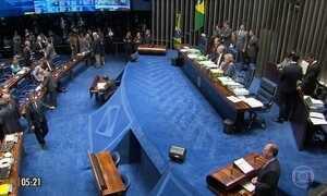 Retorno de Aécio Neves ao cargo será votado na próxima semana no Senado