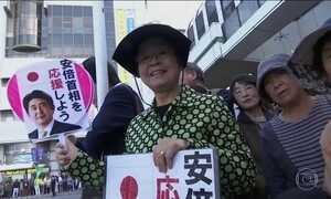 Japoneses vão às urnas votar nas eleições parlamentares antecipadas