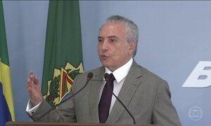 Câmara analisa denúncia contra Temer por obstrução de justiça e organização criminosa