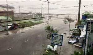 Cinco pessoas morrem na passagem de tufão no Vietnã