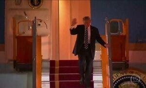 Trump chega na capital do Vietnã para mais uma etapa da visita à Ásia