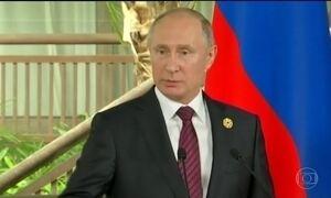 Putin volta a negar interferência russa na eleição americana