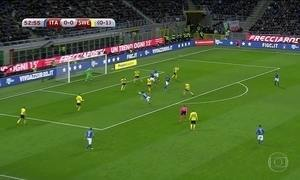 Itália empata com Suécia e perde a chance de disputar a Copa do Mundo