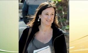 Presos dez suspeitos de participar do assassinato de jornalista em Malta