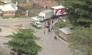 Globocop flagra roubo de cargas no Rio a 500 metros de blitz da Força Nacional
