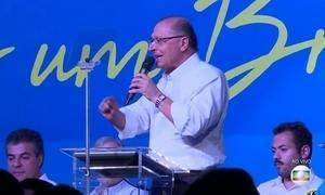 Geraldo Alckmin é o novo presidente do PSDB