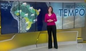 Previsão é de chuva no litoral sul da Bahia