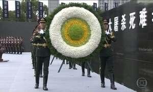 China relembra massacre de Nanquim em grande cerimônia