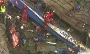 Ônibus cai em precipício no Peru e 36 pessoas morrem
