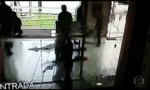 Quadrilha invade banco em Curitiba e surpreende clientes