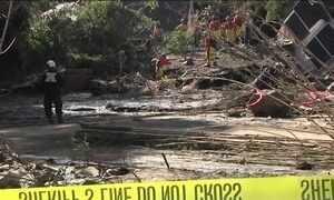 Sobe para 18 o número de mortos em deslizamentos na Califórnia, nos EUA