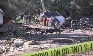 Sobe para 20 o número de mortos nos deslizamentos de terra na Califórnia